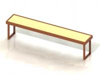 скамья в кабину